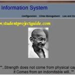 Police Information Automation System