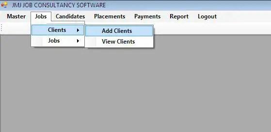 Job Consultancy Management System