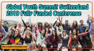 Global Youth Summit Switzerland 2019 Fully Funded
