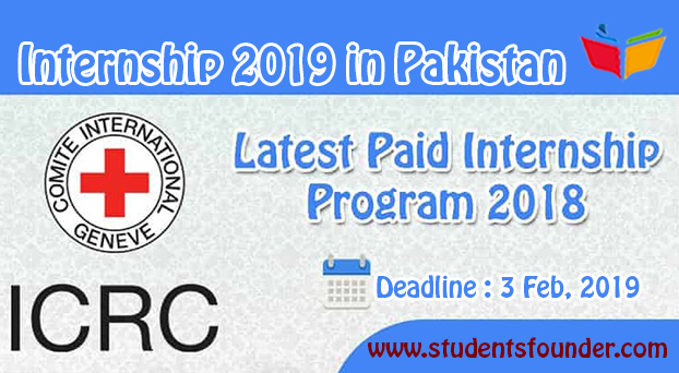 ICRC Internship 2019 in Pakistan For 3 Months – 15,000 Monthly Stipend