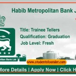 Habib Metropolitan Bank Jobs Trainee Tellers Batch 2019