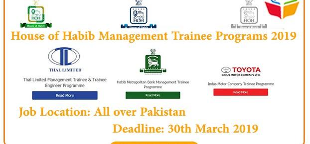 House-of-Habib-Management-Trainee-Programs-2019