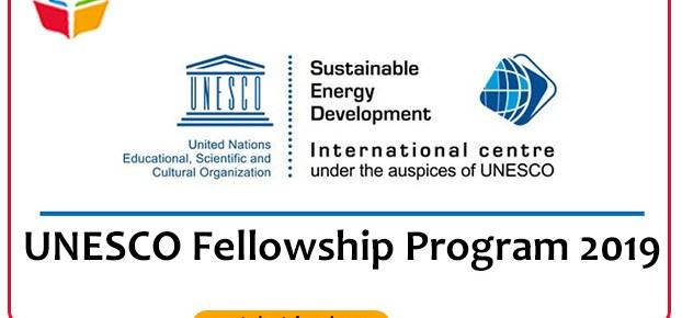 UNESCO-Fellowship-Program-2019