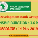 AFRICAN DEVELOPMENT BANK GROUP AFDB INTERNSHIP PROGRAM 2019 [PAID INTERNSHIP]
