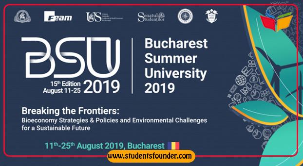 BUCHAREST UNIVERSITY SUMMER SCHOOL 2019 IN ROMANIA – FULL SCHOLARSHIP AVAILABLE