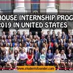 WHITE HOUSE INTERNSHIP PROGRAM 2019 IN UNITED STATES