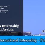 KAUST INTERNATIONAL INTERNSHIP 2019 IN SAUDI ARABIA