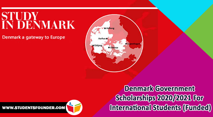 Denmark Government Scholarships 2020/2021 For International Students (Funded)
