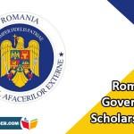 Romania Government Scholarship 2020
