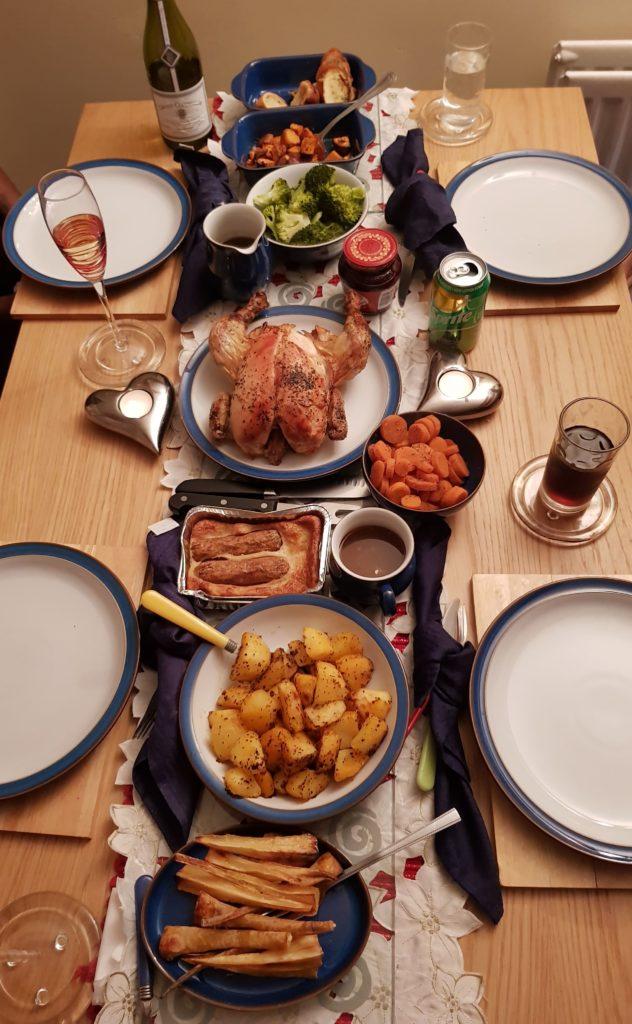 Christmas or roast dinner on a budget