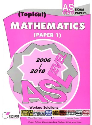 REDSPOT TOPICAL WORKED SOLUTIONS AL MATH P1 (2019 EDITION)