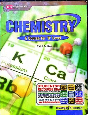 Longmann Chemsitry A Course for O Level (CHRISTOPHER N. PRESCOTT) MARHSALL CAVENDISH