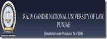 Rajiv gandhi national law university in patiala