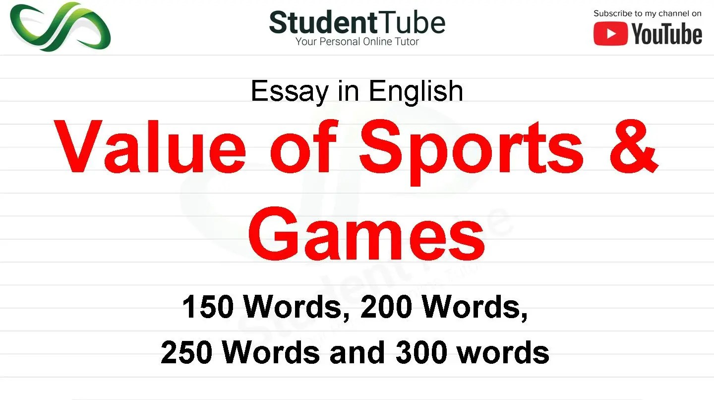 Value of Sports & Games