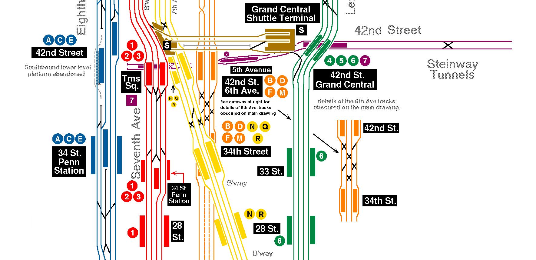 Nyc Subway Map A C E.Nyc Subway Entrances Carto Information Visualization