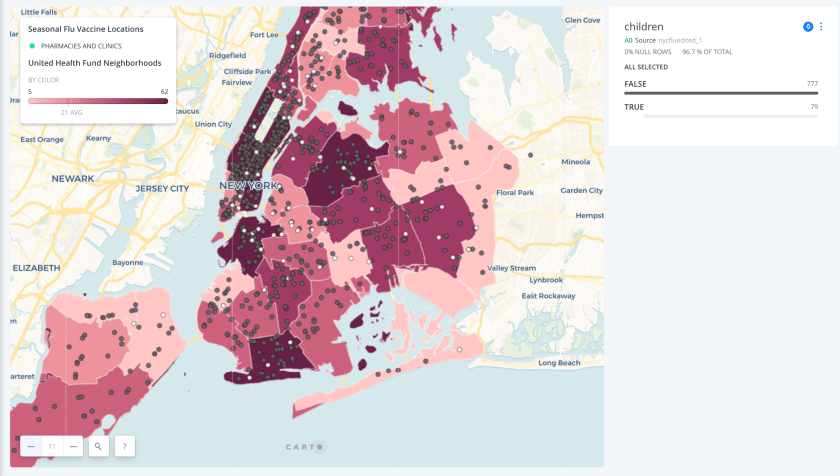Mapping Seasonal Flu Vaccine Providers in NYC - Information ... on
