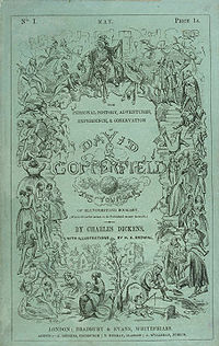 David Copperfield book cover