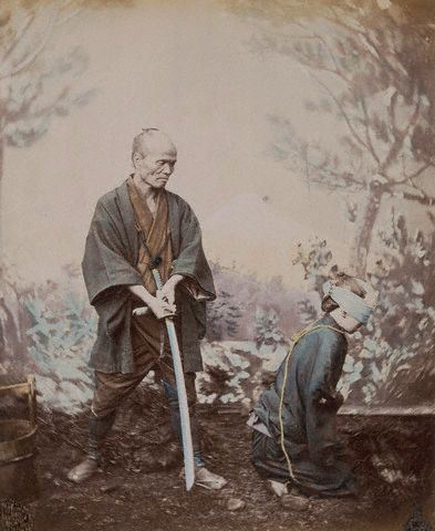 Japanese Execution Attributed to Felice Beato