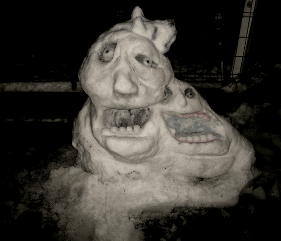 snow-monster