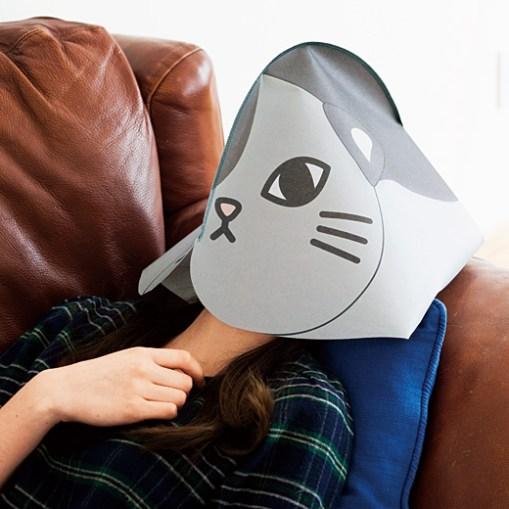 Maschera per dormire isolati da luce e rumore