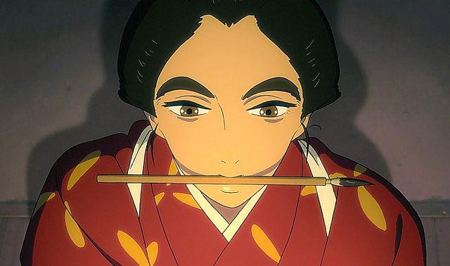 hokusai miss figlia anime sarusuberi (10)