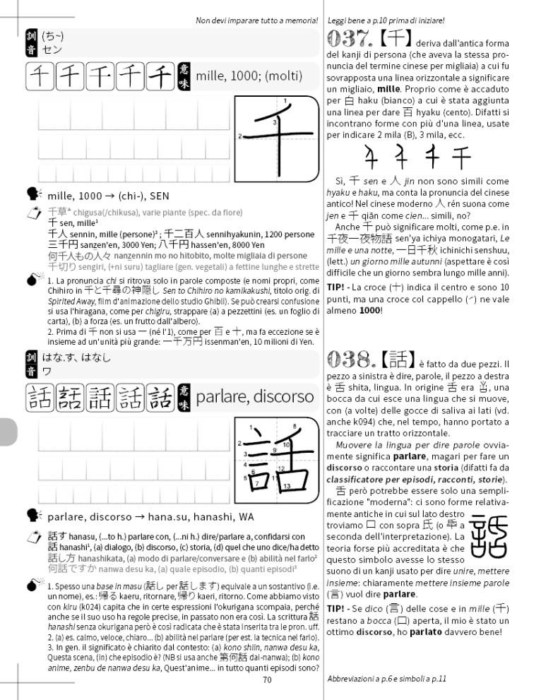 Capire i Kanji il nuovo modo di imparare i kanji2