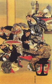 grande artista ombra padre miss hokusai sarusuberi katsushika oui (8)