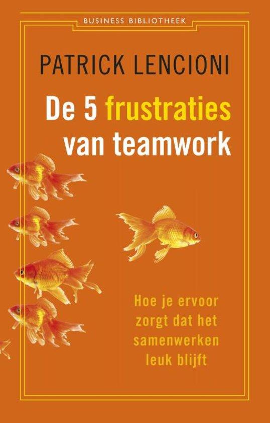 De vijf frustraties van teamwork