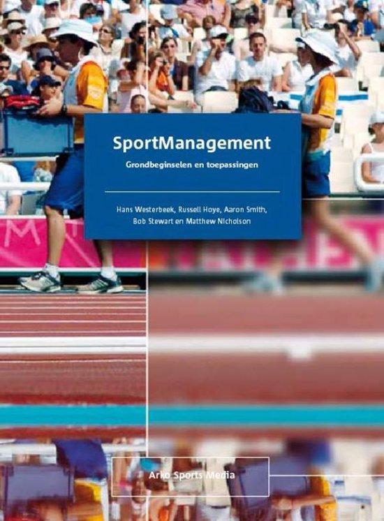 SportManagement grondbeginselen en toepassingen