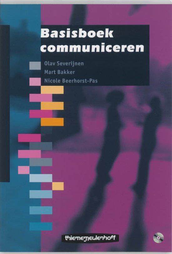 Basisboek communiceren 9789006950168