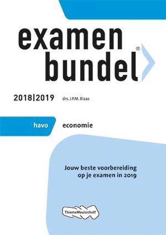 Examenbundel economie HAVO
