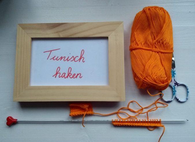 afbeelding van tunisch haken