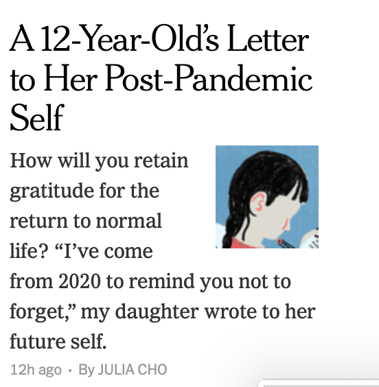 A Letter to Your Future Self