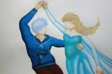 Elsa et Jack Frost dansant (Work in progress)