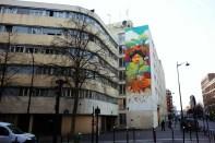 Alapinta, Pacha mama Street art, 2011 50 rue Jeanne d'Arc Paris 13e (75)