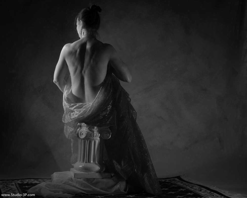 Portraits in black and white can be fine art
