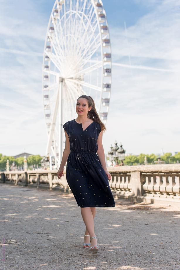 Photo shooting aux Tuileries