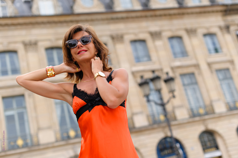 photo shooting parisien pour une blogueuse mode bordelaise