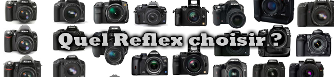 Comment choisir son appareil Reflex?