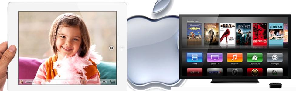 Conférence Apple, le nouvel iPad et la nouvelle Apple TV