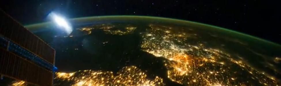 Un time Lapse de la Terre depuis la station spatial ISS