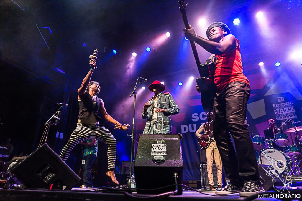 Jupiter & Okwess @ Festival de jazz international de Montreal