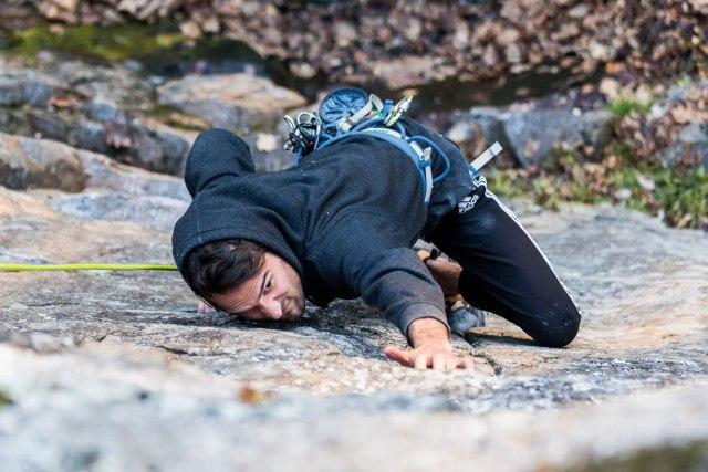 Début de la saison d'escalade à la Montagne d'Argent