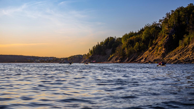 Sortie en kayak de mer en Gaspesie