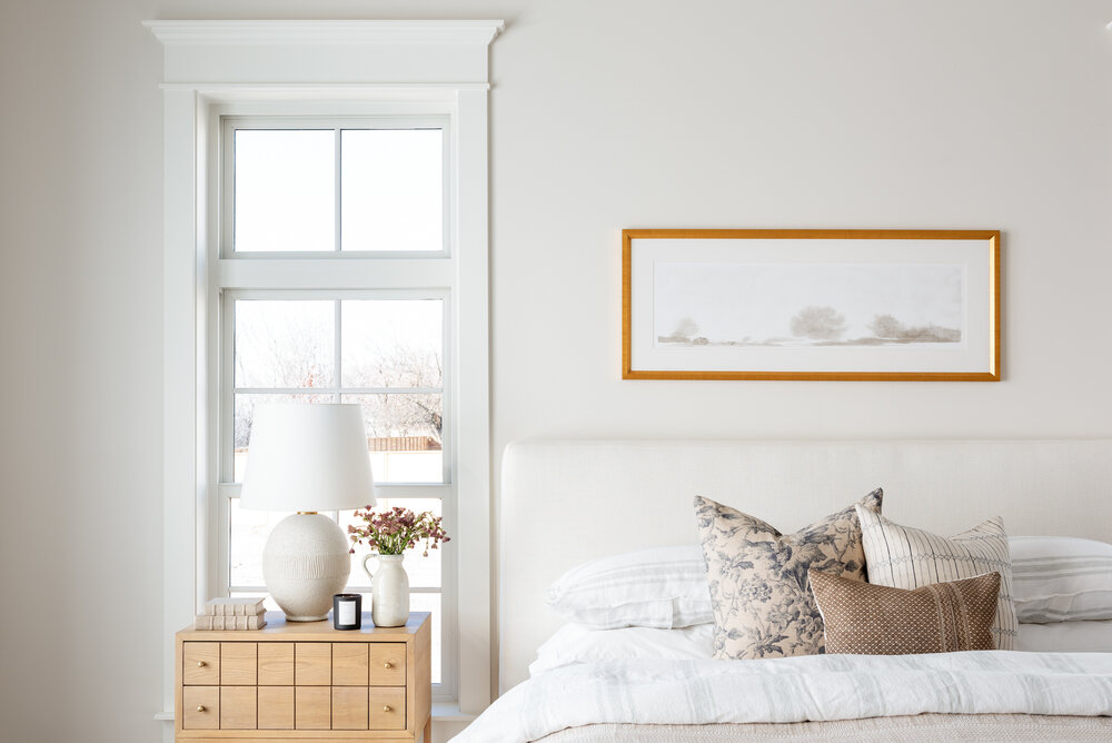 how to decorate the area above your bed studio mcgee