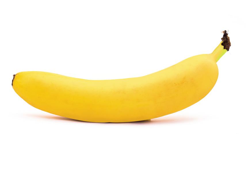 Banaan geretoucheerd in photoshop