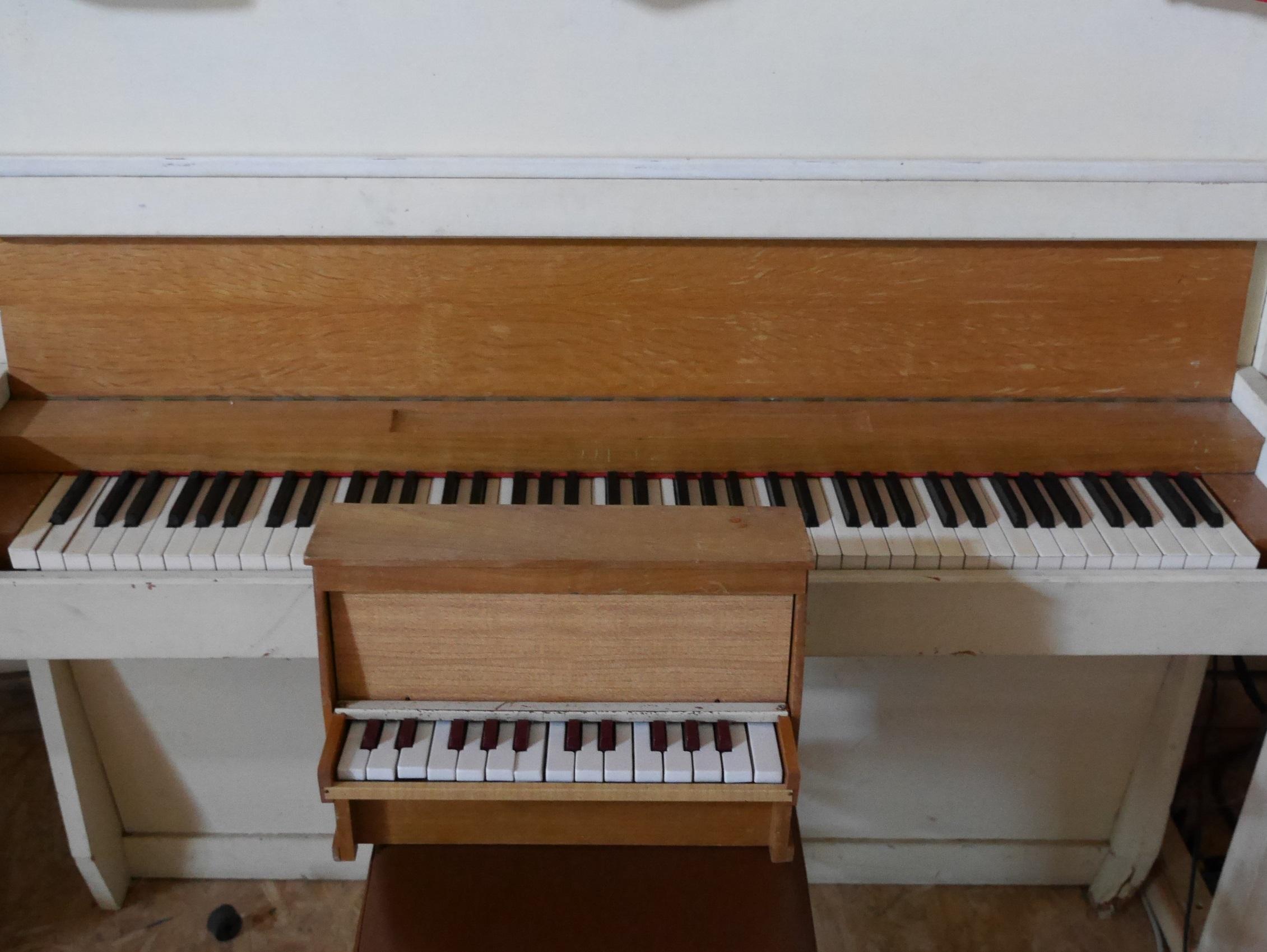studio la boite a meuh - toy piano Michelsonne