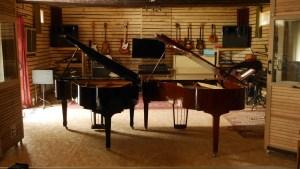 studio la boite à meuh - enregistrement deux pianos à queue