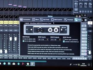 studio la boîte à meuh -Behringer x-madi