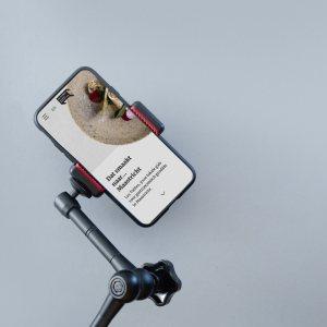 Mobiel ontwerp Les Tables